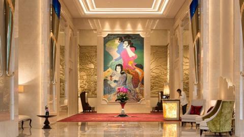 Interior mewah Hotel Raffles