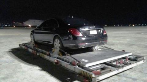 Mobil mewah Raja Salman