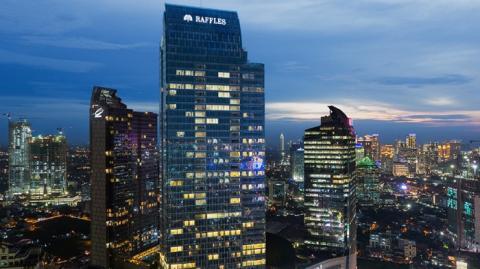 Hotel Raffles untuk Raja Salman