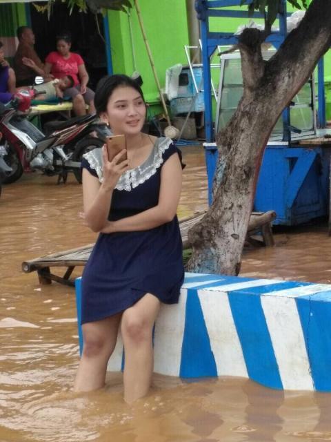 Korban banjir bening