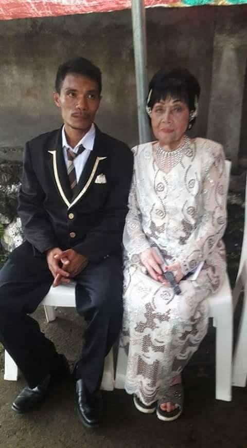 Oma 80 tahun nikahi pemuda 28 tahun