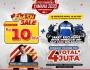 Pesta Merdeka Yamaha Jatim, Ada Diskon Rp 10 Juta di Setiap PembelianMotor!